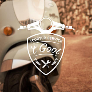 SCOOTER SERVICE 'T GOOI