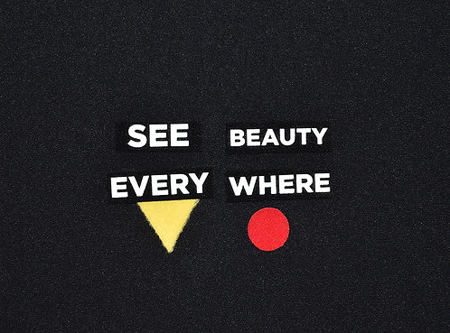 See Beauty Everwhere Patch Set