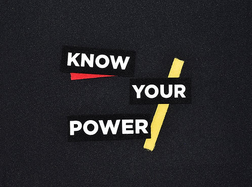 Know Your Power Patch Set