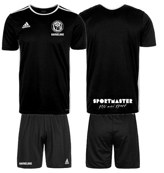 HEI T-shirt / Shorts Sæt m/navn