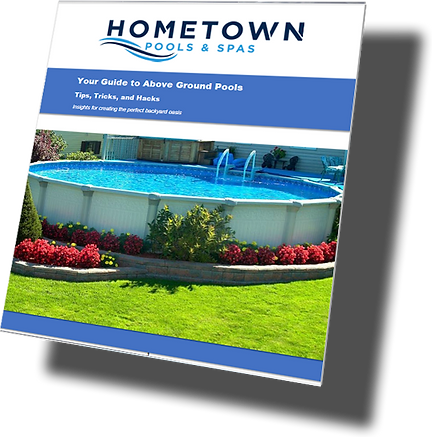 Hometown free e-book to above the ground pools covering tips and tricks