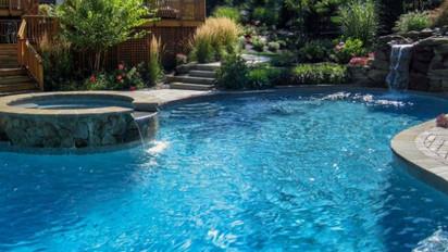 Inground pool equipment