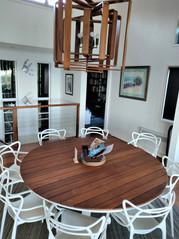 Upstairs dining area
