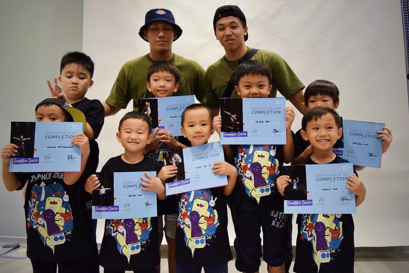 Kids Graduation Cert