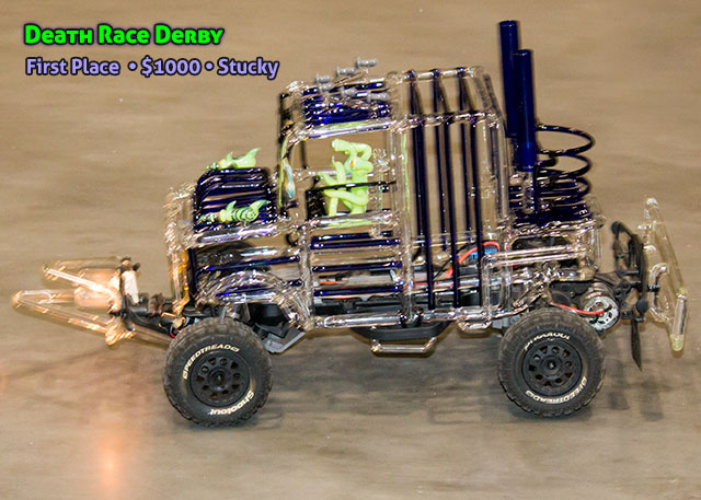 1ST PLACE DEATH RACE DERBY