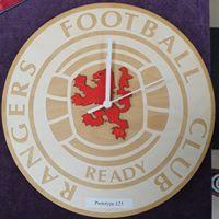 Rangers clock