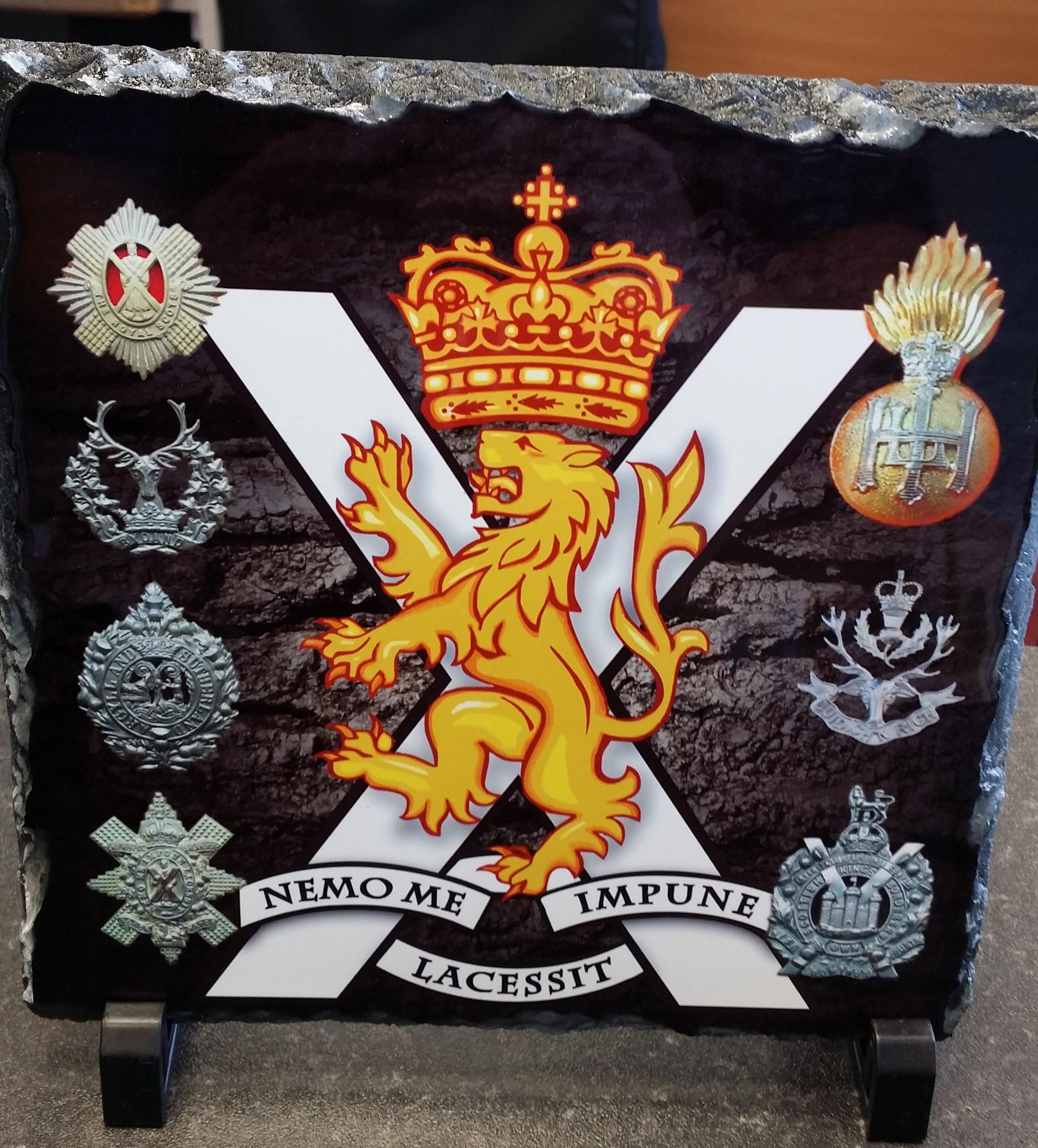 Regimental Slates