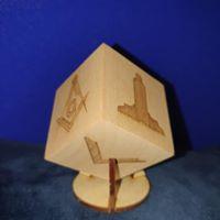 masonic cubes