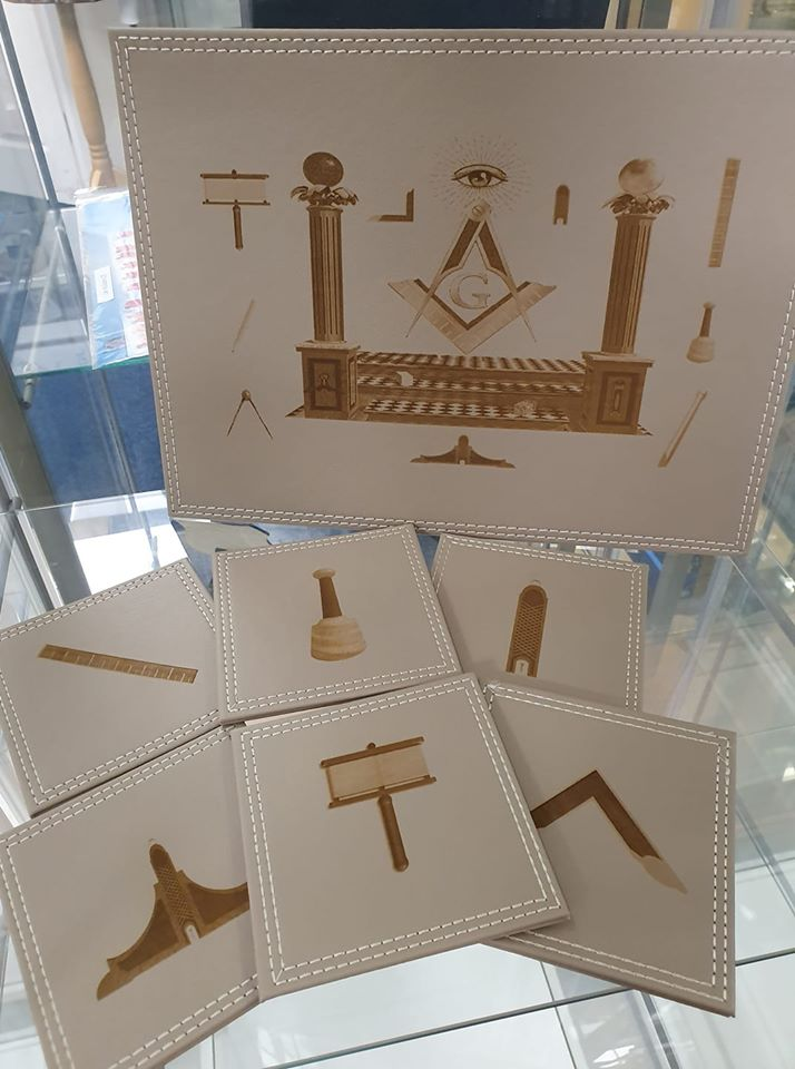 tablemat/coaster set