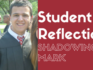 Student Shadow's Mark: Senior Project Reflection