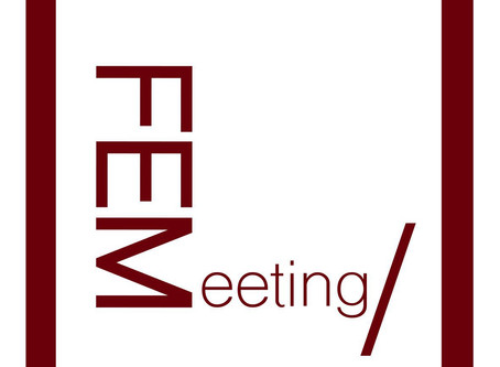I will be participating in FEMeeting: Women in Art, Science, & Technology in Lisbon, Portugal Ju