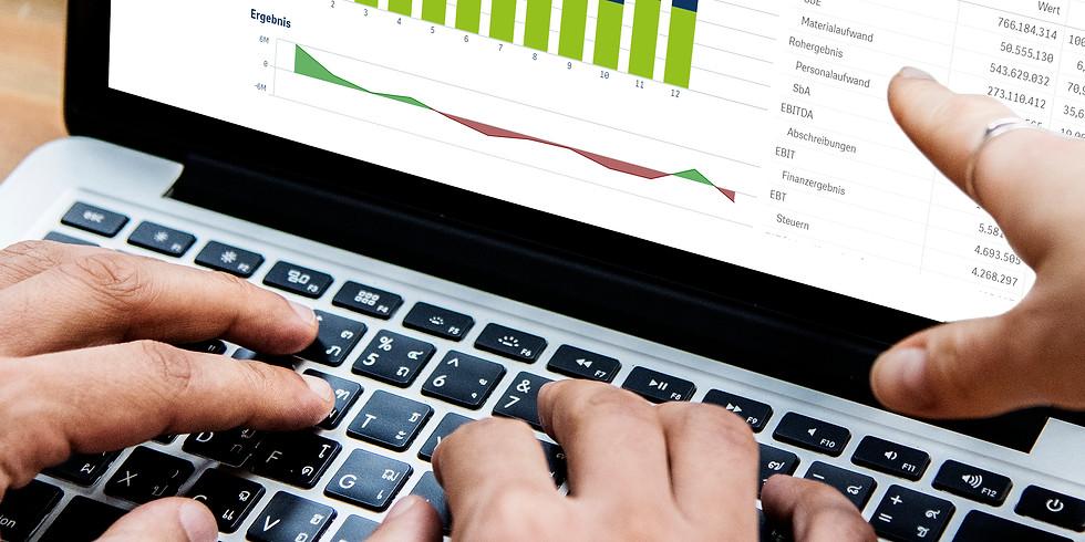 Transparente Unternehmensdaten: Verwandeln Sie Daten in aussagekräftige Visualisierungen und entdecken Sie Zusammenhänge
