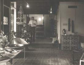 Bill's Dad in His Gallery--1965