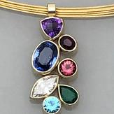 Sweet--Birth Stone Pendant