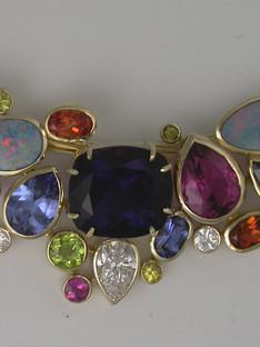 Multi Gemstone Pendant