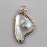 Customers Pearl Made into Pendant