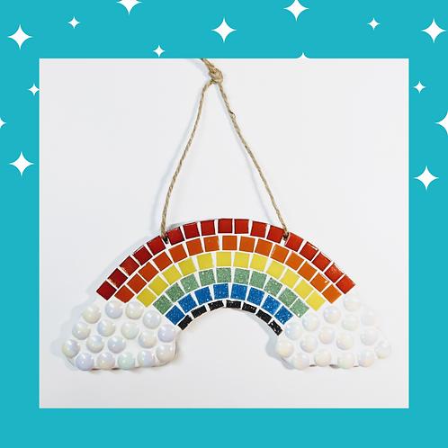 Multi-Coloured Rainbow Mosaic Kit