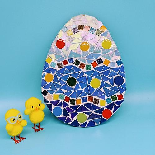 Giant Multicoloured Egg Mosaic Kit