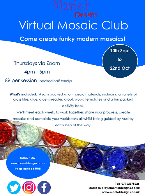 Virtual After School Mosaic Club - Half Term
