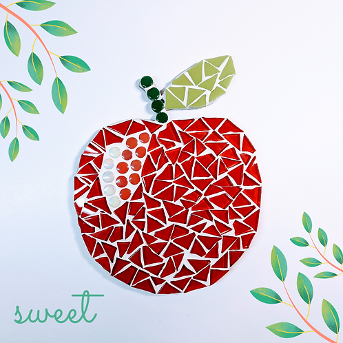 Red Apple Mosaic Kit