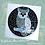Thumbnail: Black and Grey Owl Mosaic Kit