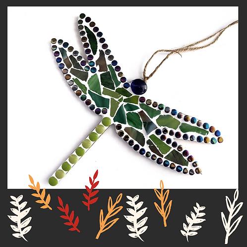 Sea Glass Greens Dragonfly Kit