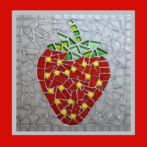 Sweet Red Strawberry Mosaic Kit