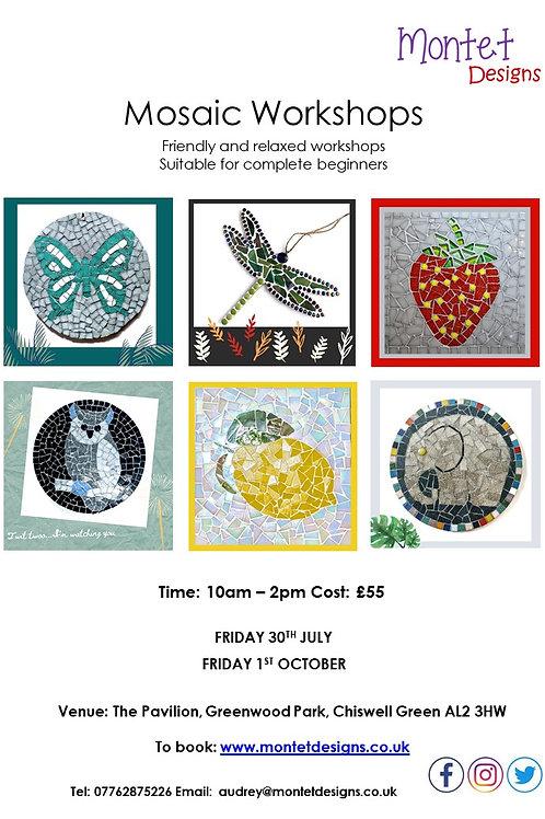 Mosaic Workshop - St Albans - 10am-2pm