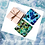 Thumbnail: Blues and Greens Sea glass Mosaic Coaster Kit
