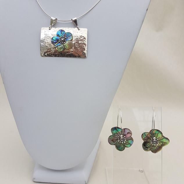 Abalone Flower Jewelry