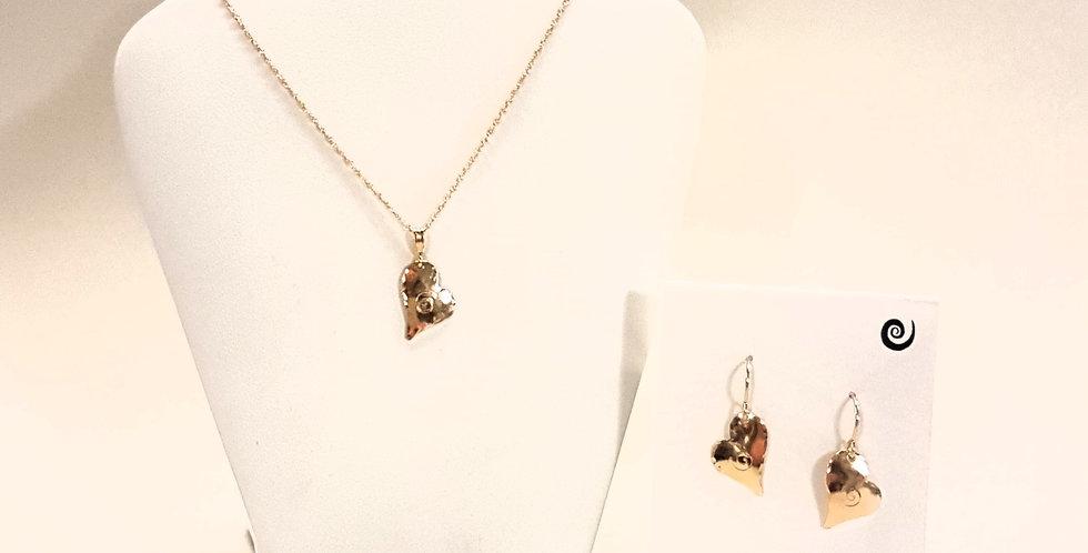 Wild Heart Necklace or Earrings