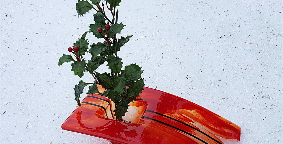 Ikebana Slant - Red