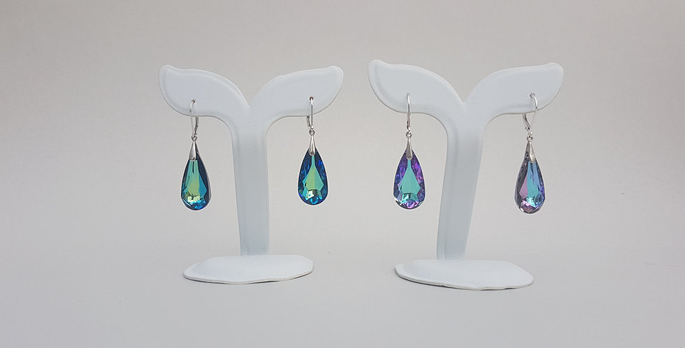 Teardrop Earrings, Swarovski Crystal