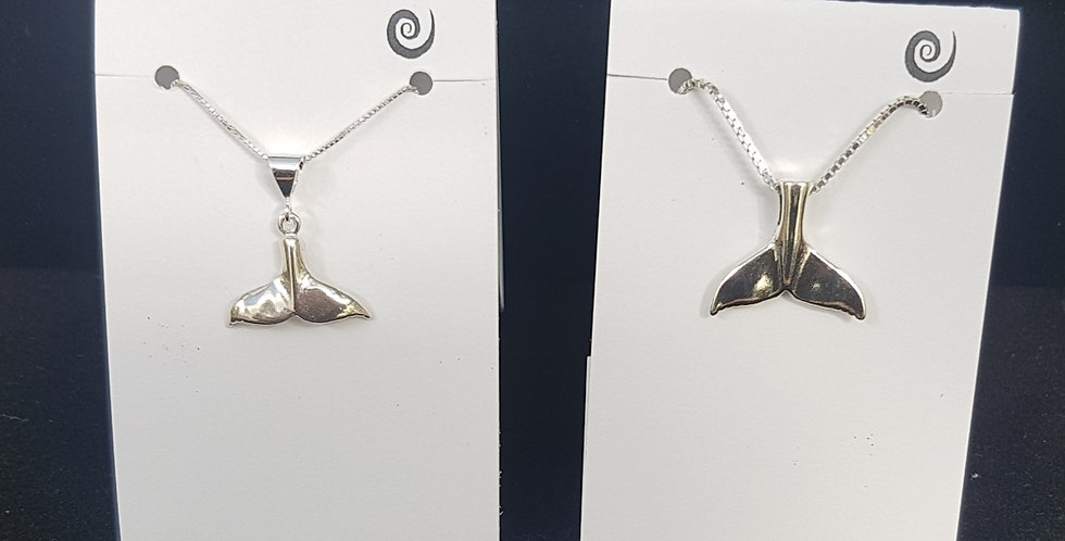 Whale Tail Necklaces