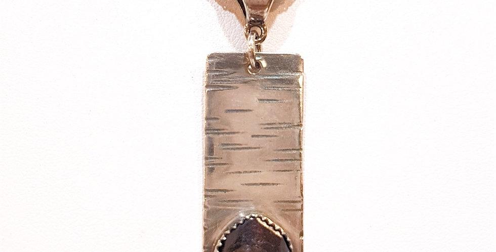Mitkof Island Garnet Pendant