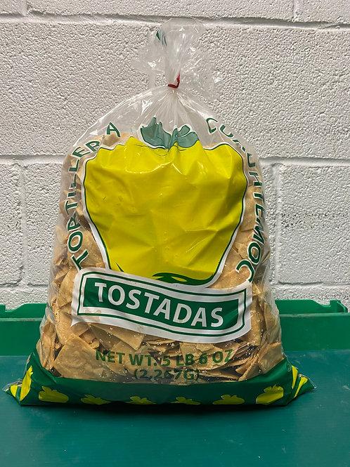Party Bag Tostada Chips 5lb