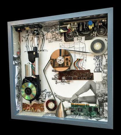 235-B-Man Recording Life Through Time (a