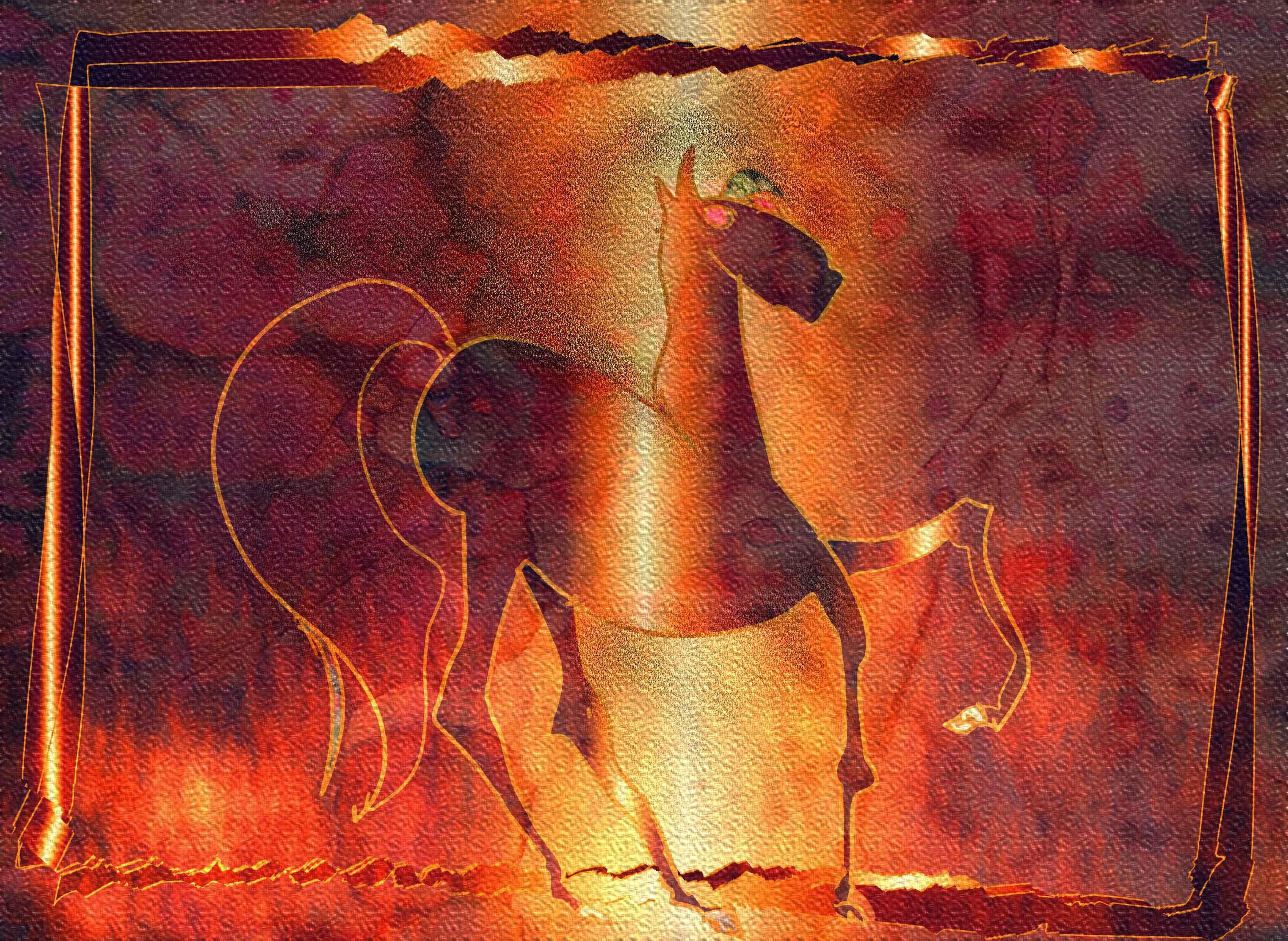 purple-horse
