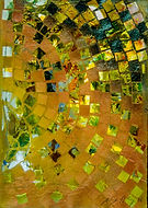 golden squares on paper #3