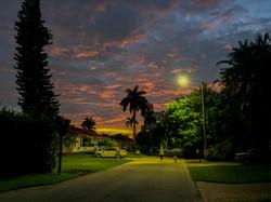 Alix w Hudley at dusk