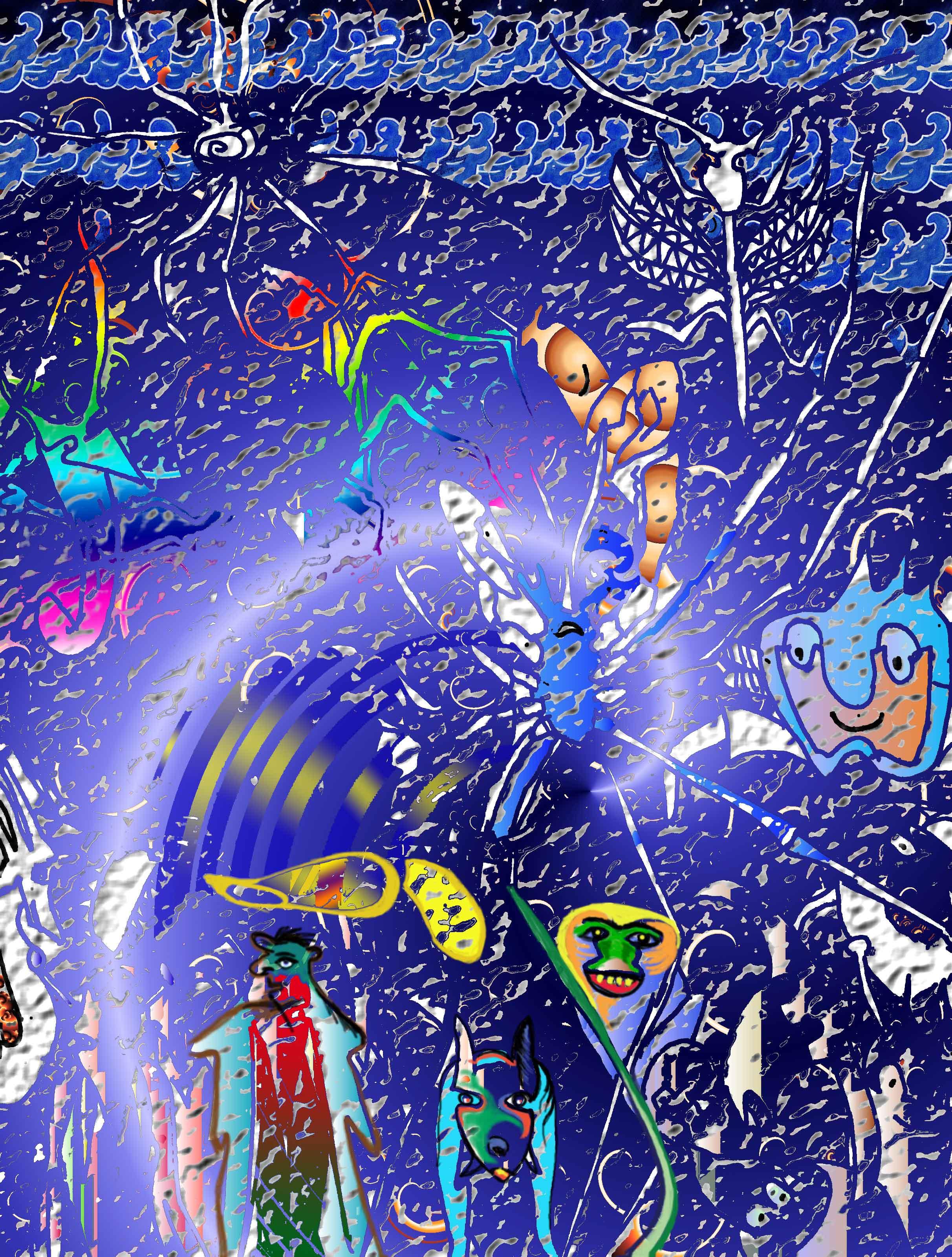 animals---spider-web-in-blu