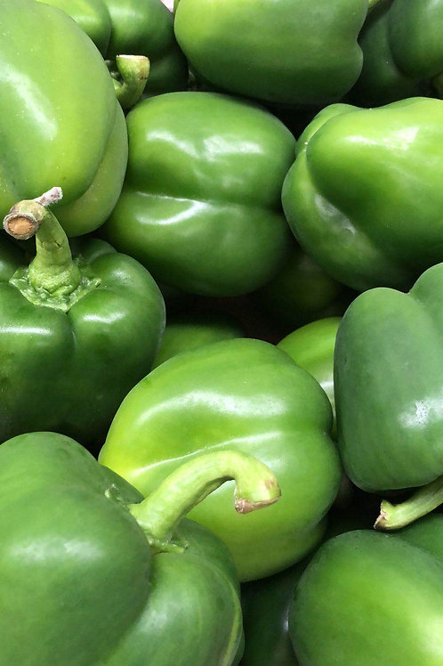 Green capsicum for two
