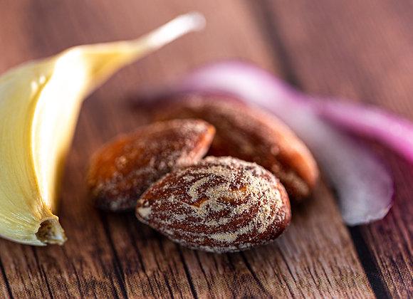 Onion Garlic Roasted Almonds