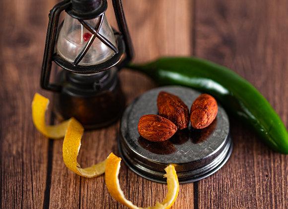 Chili Lemon Roasted Almonds