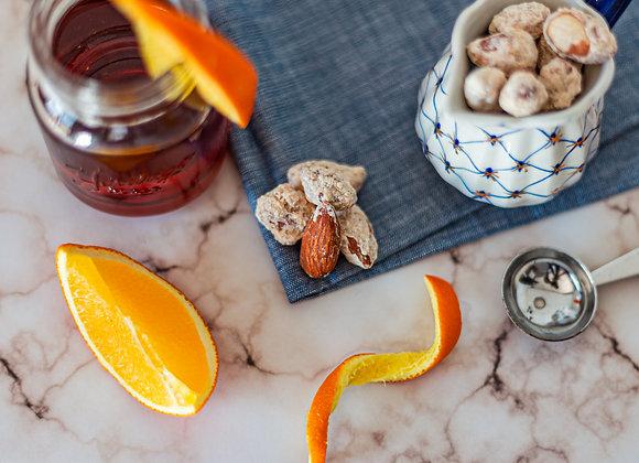 Orange Honey Roasted Almonds