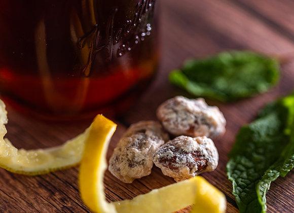 Lemon Honey Roasted Almonds