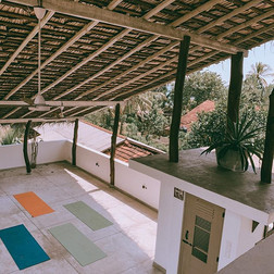 Our open air shala will make you feel to