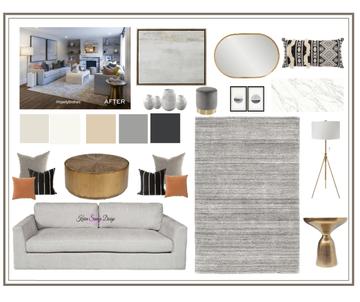 Modern Gray Living Room Design Map #8 Style Solutions & Selections Karen Savage Design