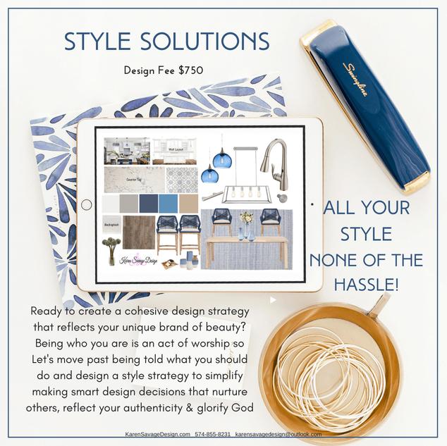 Interior Design Style Solutions