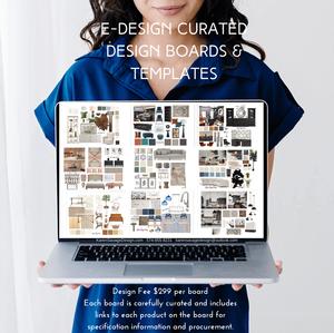 Online Design Shopping Boards & Templates Karen Savage Design
